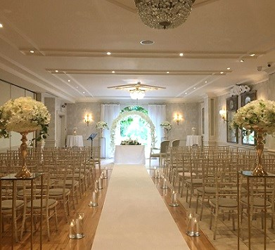 A Ceremony Decor Package, shows The Conyngham Arms