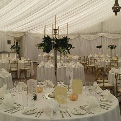 Candelabra With Floral Ring To Hire X 10 All About Weddings Venue